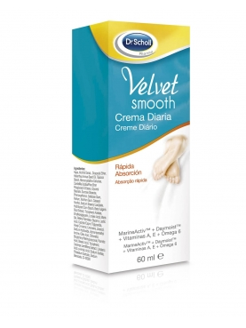 SCHOLL VELVET SMOOTH PIES CREMA DIARIA 60 ML
