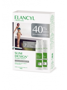 ELANCYL SLIM DESIGN PACK DUO 200 ML 2 U