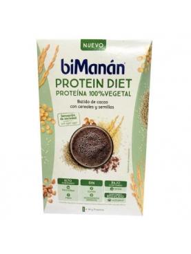 BIMANAN PROTEIN DIET BATIDO CACAO 100%VEGETAL