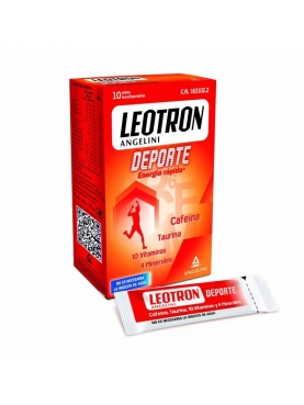LEOTRON DEPORTE SOBRES BUCODISPERSABLES 20 SOBRE