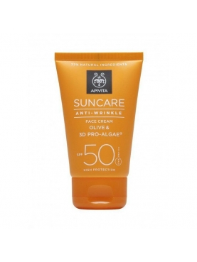 APIVITA SUN ANTI EDAD SPF 50 + FACE WATER