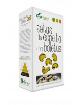 SETAS DE ESPELTA CON BOLETUS BIO 250G