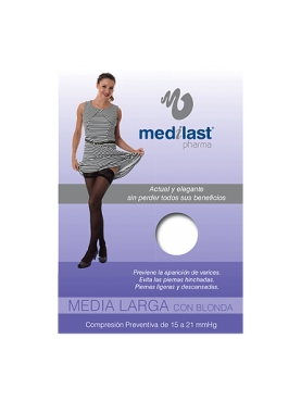 MEDIA LARGA (A-F) COMP NORMAL MEDILAST BLONDA DE