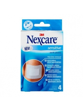 3M NEXCARE TIRITAS SENSITIVE ESTERIL 4 U