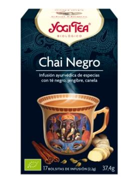 YOGI TEA CHAI NEGRO 17 BOLS
