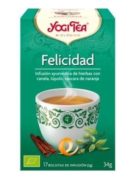 YOGI TEA FELICIDAD 17 BOLS