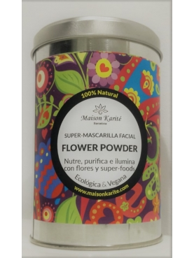 MAISON  KARITE MASCARILLA FACIAL FLOWER POWDER