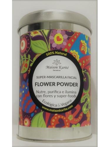 MAISON  KARITE MASCARILLA FACIAL FLOWER POWDER