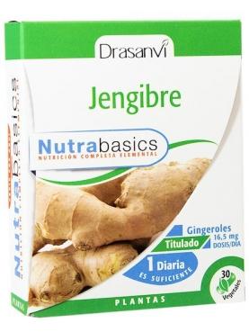 JENGIBRE 30 CAPS NUTRABASICOS DRASANVI