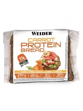 WEIDER CARROT PROTEIN BREAD 250 G