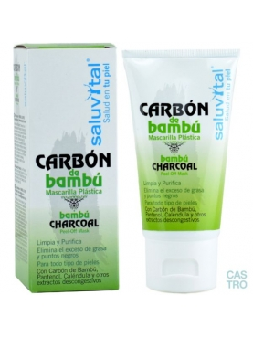 MASCARILLA CARBÓN BAMBÚ 50 ML