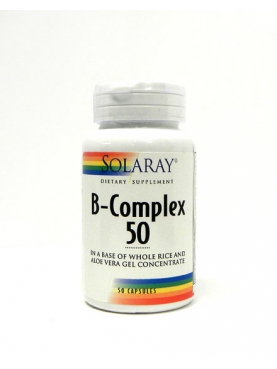 SOLARAY B-COMPLEX 50 CAP