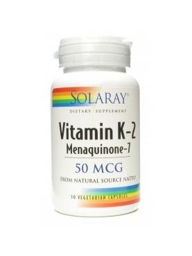 SOLARAY VITAMINA K-2 MENAQUINONE-1 30CAP
