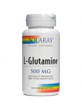 SOLARAY L-GLUTAMINA 500 MG 50 CAP