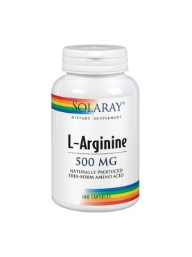 SOLARAY L-ARGININA 500 MG 100CAP
