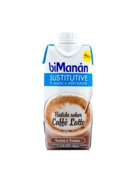 BIMANAN SUSTITUTIVE BATIDO DE CAFÉ CON LECHE 330