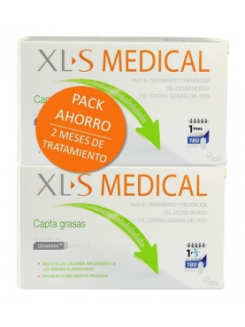 XLS MEDICAL CAPTA GRASAS PACK AHORRO 2X180 COP