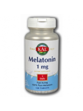 KAL MELATONINA 1MG 120 TABL