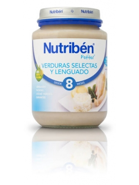 NUTRIBÉN JUNIOR LENGUADO VERD 200 G