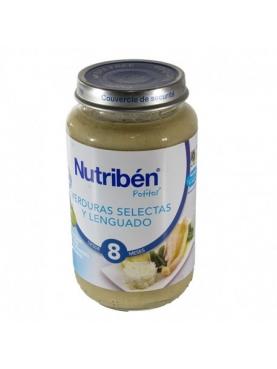 NUTRIBÉN VERDURAS LENGUADO 250 G