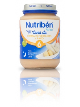 NUTRIBÉN CENA CR VER PAVO 200 G