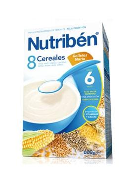 NUTRIBÉN 8 CER GALL MARÍA 600 G