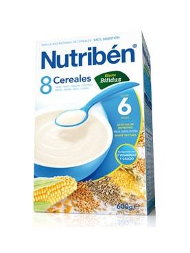 NUTRIBÉN 8 CER EFE BÍFIDUS 600 G