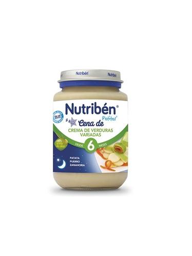NUTRIBÉN CENA CREMA VERDURAS VARIADAS 200 G