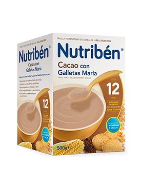 NUTRIBÉN CACAO GALLET MAR 500 G