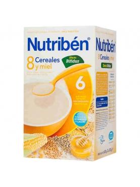 NUTRIBÉN 8 CER MIEL BIFID 600 G