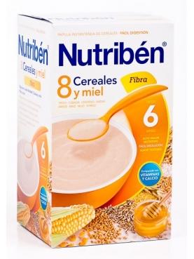 NUTRIBÉN 8 CER MIEL FIBR 600 G