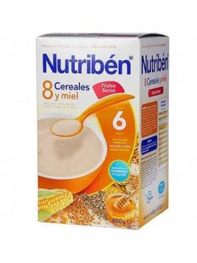 NUTRIBÉN 8 CER M FRUT SEC 600 G