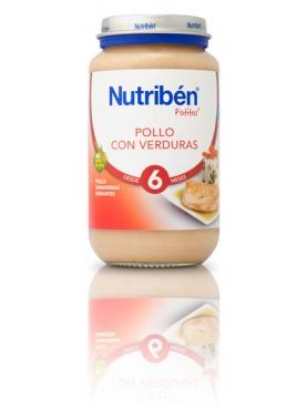 NUTRIBÉN POLLO VERDURAS 250 G