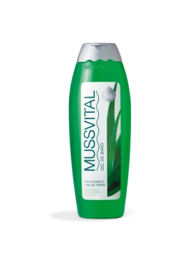 MUSSVITAL GEL BAÑO ALOE 750 ML