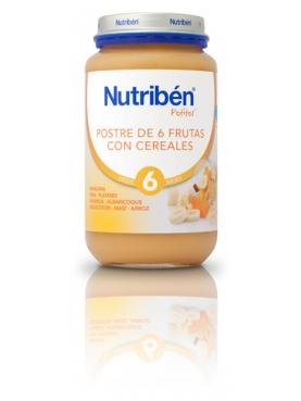 NUTRIBÉN POSTRE FRUTAS CEREALES 250 G