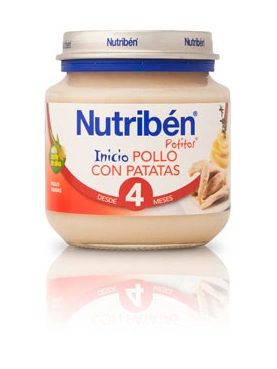 NUTRIBÉN BEBÉ INICIO POLLO PATATA