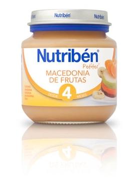 NUTRIBÉN BEBÉ INICIO MACEDON FRUTAS