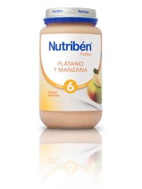 NUTRIBÉN PLÁTANO Y MANZANA 250 G