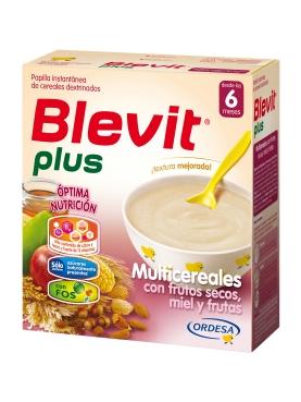 BLEVIT PLUS FRUT SEC MIEL 600 G