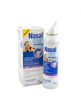 NASALMER HIPERTÓNICO JUNIOR 125 ML