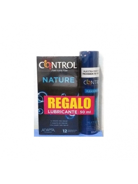 CONTROL NATURE PRESERVATIVOS 12 U + PLEASURE GEL