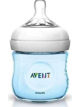 BIBERON PP NATURAL PHILIPS AVENT 125 ML AZUL