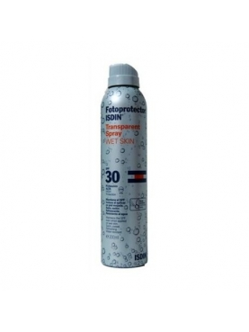 FOTOPROTECTOR ISDIN SPF-30 SPRAY TRANSPARENTE WE