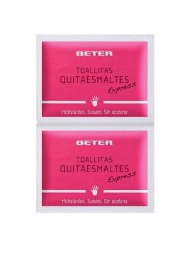 TOALLITAS QUITAESMALTES BETER (10 UND)