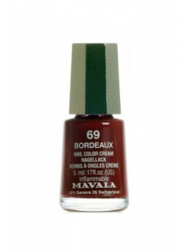MAVALA COLOR BORDEAUX 069