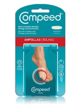 COMPEED APOSITOS AMPOLLAS PQ 6 UND