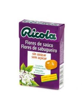 RICOLA CARAMELOS FLOR SAUCO S/A 50 G.