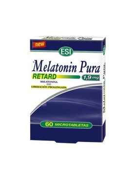 MELATONIN RETARD TAB 1.90 MG 60 TABLETAS