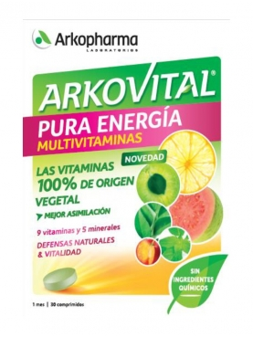 ARKOVITAL PURA ENERGÍA 30 COMP