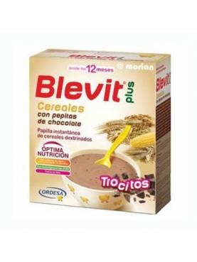 BLEVIT PLUS CEREALES Y PEPITAS DE CHOCOLATE 600
